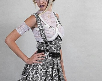 N.H.I. designer steampunk jumper bustle dress SPRING 2013 COLLECTION