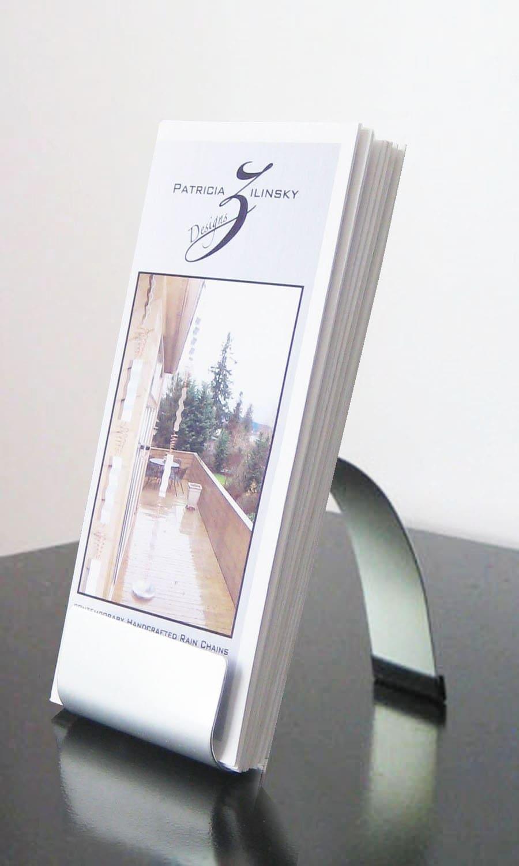 Modern Metal Brochure Holder