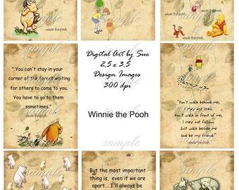 INSTANT DOWNLOAD - Winnie The Pooh - Printable Digital