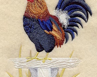 Rooster Towel Jungle Fowl Rooster Tea Towel