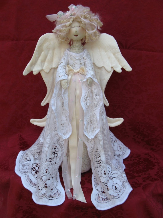 Cloth Doll E-Pattern- 18in Beautiful Holiday Heavenly Angel