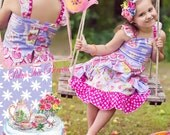 Girls Floral Dress, tea time dress, tea party dress