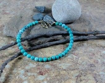 25% OFF Turquoise Gold Filled Summer Bracelet