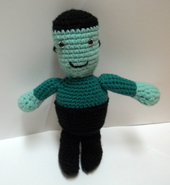 Frankenstein - Halloween Toy - Crochet Toy