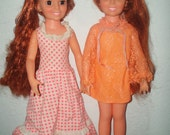 1969 Two Ideal Crissy Dolls