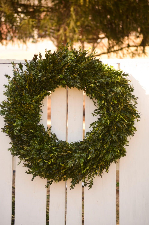 fresh extra large boxwood wreath 30 32 wreath