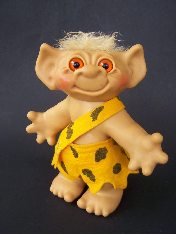 Vintage Toy 1960s Uneeda Wishnik Caveman 8 Inch Cavenik