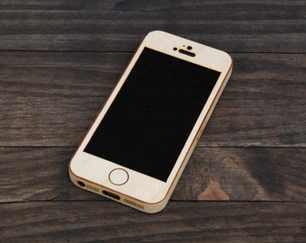 Birch iPhone Case - Wooden iPhone Case for iPhone 4, iPhone 4S, iPhone 5 & iPhone 5S