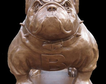 Bulldog Mascot Statue ... English Bulldog Body Style