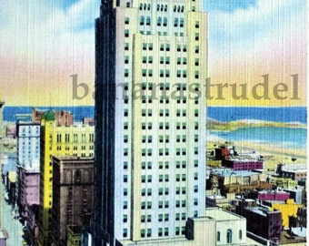 1930s Postcard. Bank of Commerce Bldg. / CIBC / Financial District, Toronto, Ontario