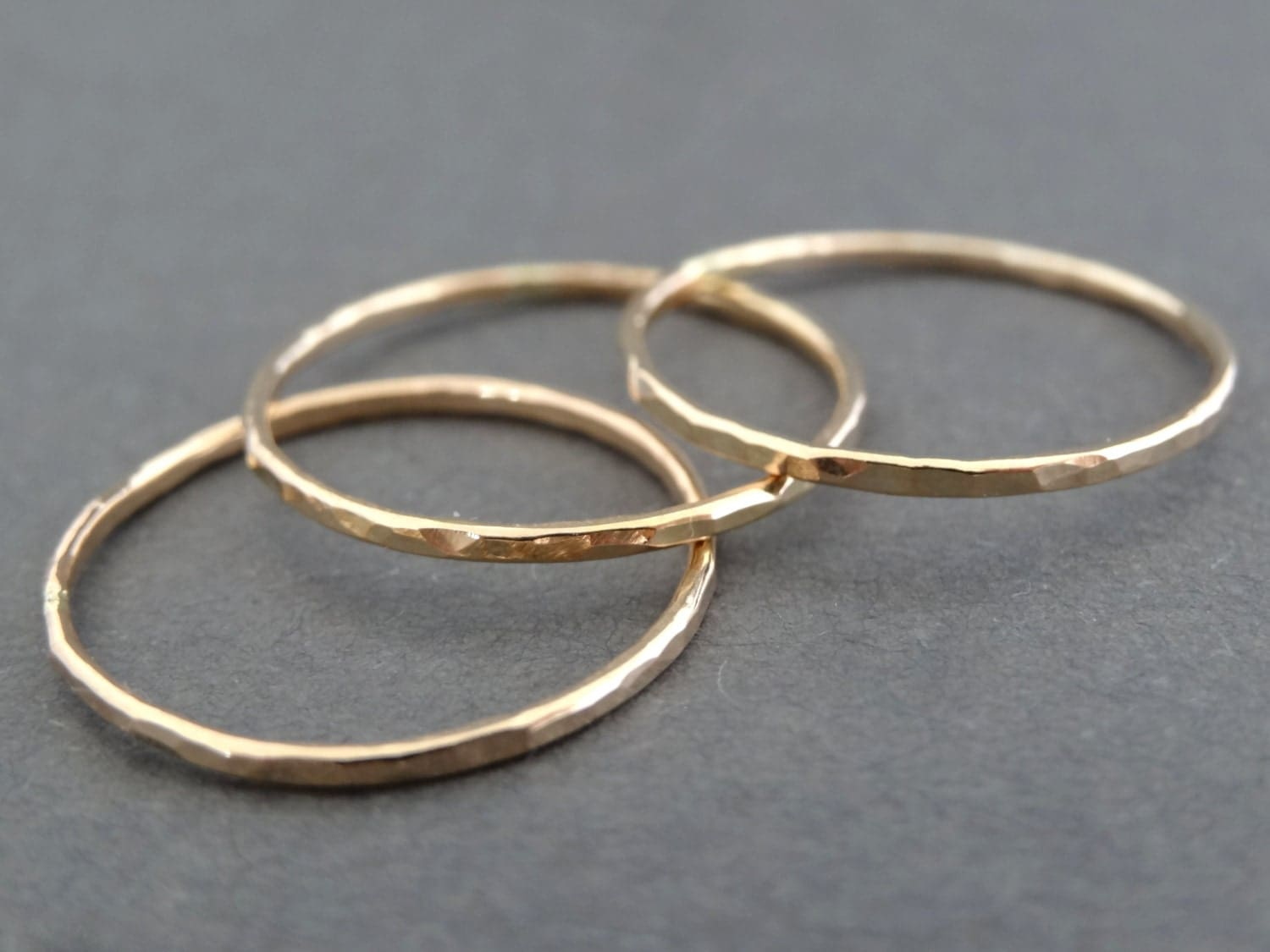 thin gold rings 14 k gold filled ring stacking rings. Black Bedroom Furniture Sets. Home Design Ideas