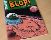 BLOP! Comix -Issue One (November 2013) Comic Book anthology by Alex Hahn [Everyone's favourite Martian, crabby cakes...]