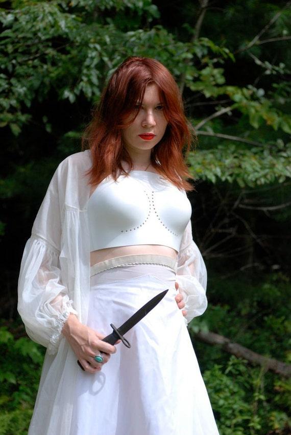 Sale 2 Warrior Woman Fencing Armor Chest Protectors Burlesque