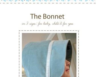 The Bonnet Pattern PDF in 3 sizes