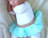 Custom order baby girl skirt and Headband set original design