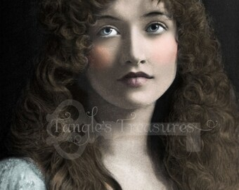 "Vintage Photograph ""Judith"" Digital Image - Commercial Use"