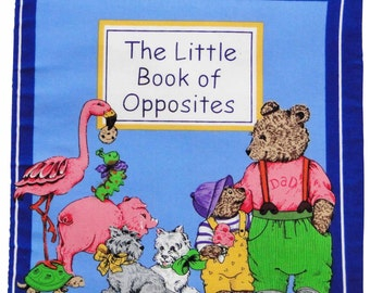 The Little Book of Opposites cloth book.