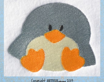 Penguin 3, INSTANT DOWNLOAD, Embroidery Design for Machine Embroidery 4x4