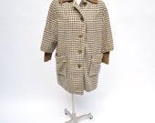1960s vintage mod wool coat adorable 60s mad men david shawl collar