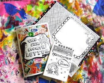 Two Mini Zines - The Six Month Letter Zine & PPP