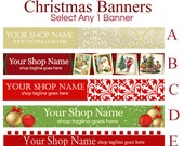 Christmas Etsy Banners - Selections 5