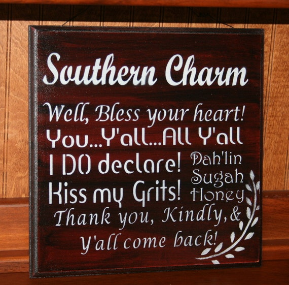 Old Fashioned Southern Phrases