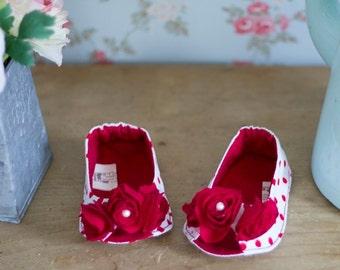 no 244 Angelina Baby Flats Sewing PDF Pattern