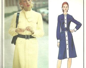 Vogue 2695 / Vintage Designer Sewing Pattern / Paris Original By Balmain / Dress / Size 14 Bust 36