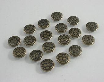 40 sets.Round Brass Celtic Buttons Rivets Studs Decorative Rivets 12 mm. CT BR12 K