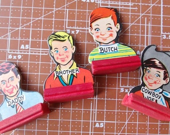 Vintage Game Pieces Go To The Head Of The Class All Boys 1953