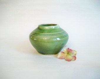Vase  - Lovely Deep Green