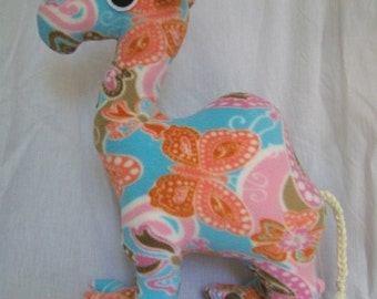 Customizable Camel Plush - choose your own colors and patterns