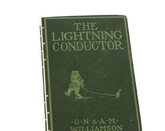 1905 LIGHTNING CONDUCTOR Antique Notebook Journal