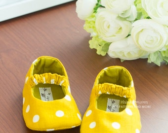 no 80 Juliet Baby Mary Janes PDF Pattern