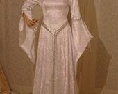 ELVEN DRESS, medieval dress, renaissance dress, custom made