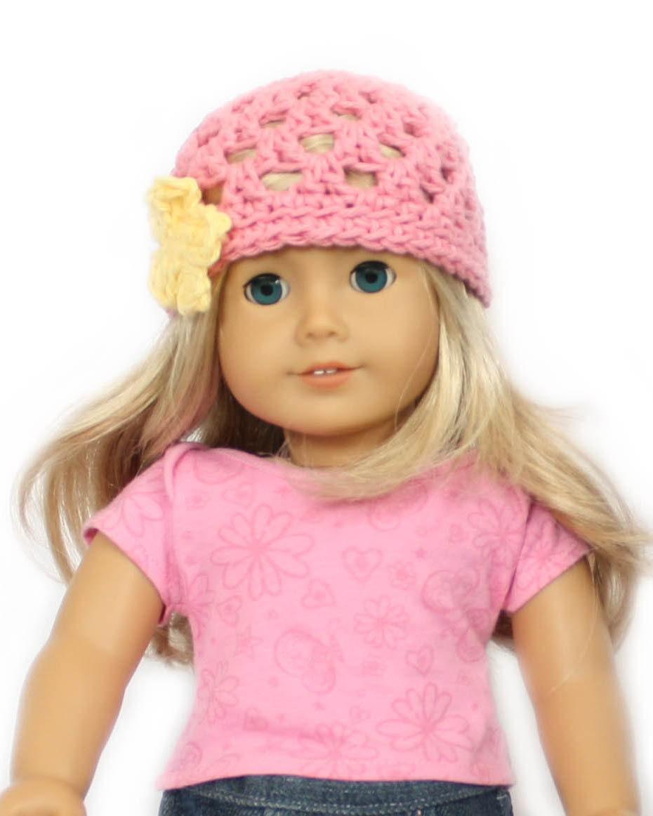 Air Freshener Crochet Dolls Pattern : Download Now CROCHET PATTERN 18 Doll Hat PDF 81 by littleabbee
