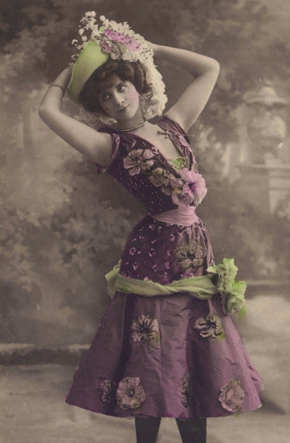Marthe Derminy, Belle Epoque Stage Performer, by Reutlinger, circa 1905