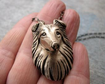 Collie Shetland sheepdog sheltie necklace