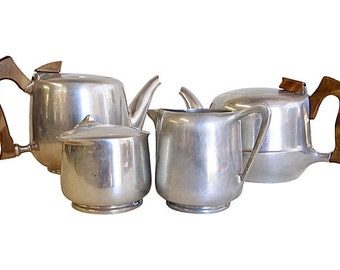 Picquot Tea Service 4/piece Made in England
