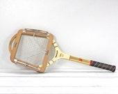 Vintage Bancroft Bill Tilden Wooden Tennis Racquet
