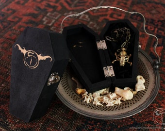 Miyu Decay Coffin Shaped Jewelry Box