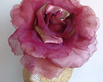 SALE Extra Large Rose -  Burgundy WAS 50.00 NOW 40.00
