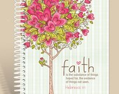 Prayer Journal Personalized - Faith Defined - Hebrews 11:1/