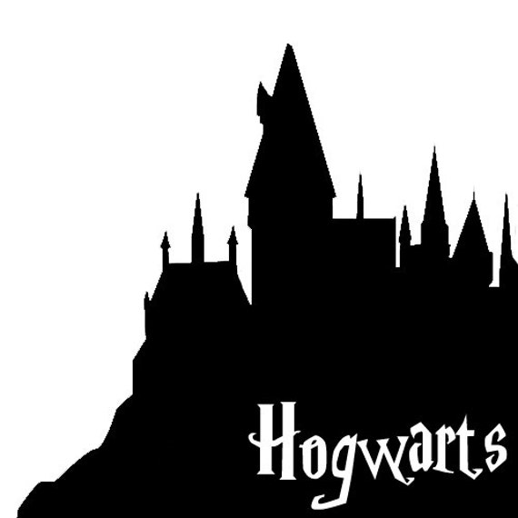 Hogwarts house vinyl sticker decal - Hogwarts decal ...