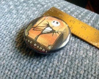 Jack Skellington Nightmare Before Christmas Bone Daddy Vintage  pin