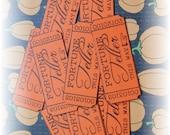 Fortune Teller Halloween Tickets (10)