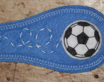 Eye Patch - Soccer Ball (available in size small)
