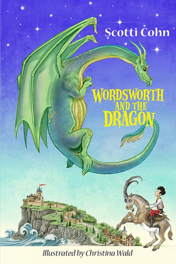 "Childrens Book ""Wordsworth and the Dragon"" humor fantasy grades 3-5"