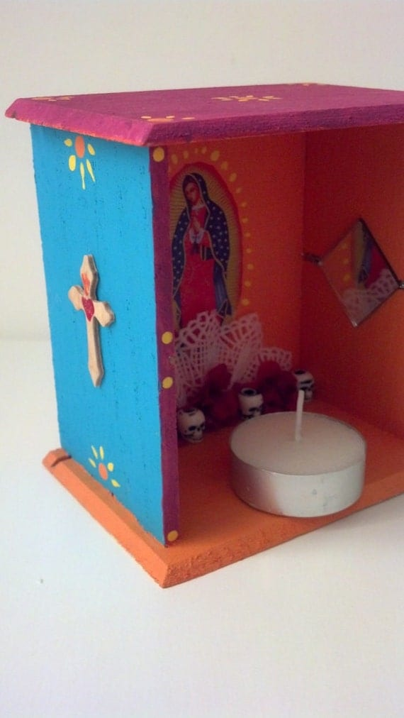Day of the Dead Religious Shrine Shadow Box