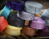Choose Color: Sinemay Bias Trim -1yd  Add Volume and Dimension to your Design